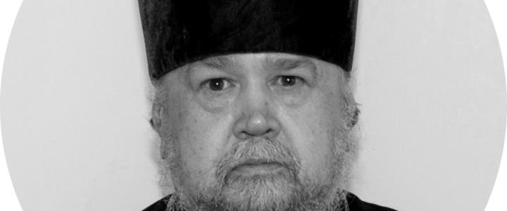 Отошел ко Господу протоиерей Николай Морозов, клирик храма Живоначальной Троицы в Карачарове